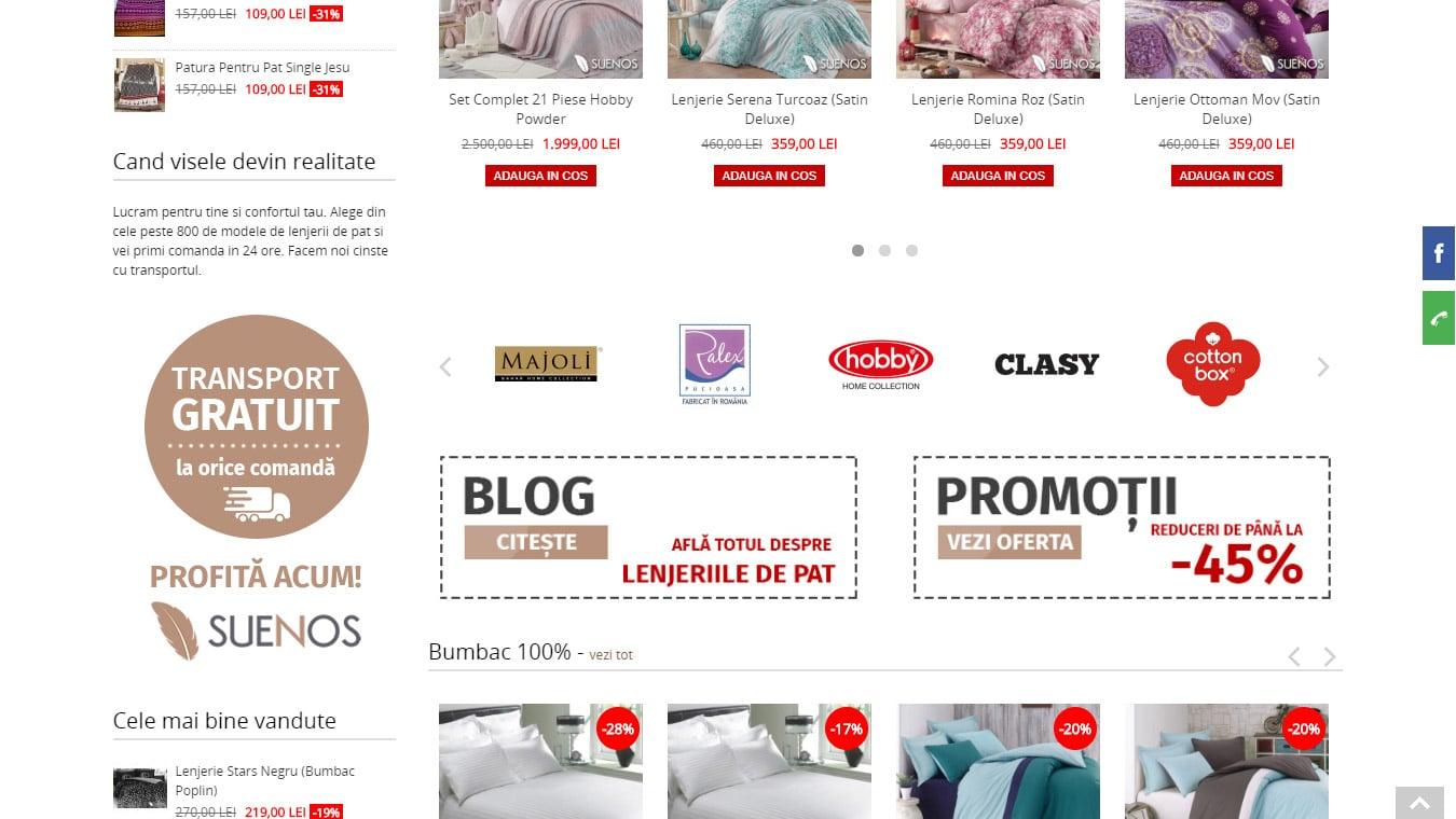 suenos homepage